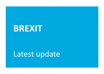 BREXIT update for participants in the EU